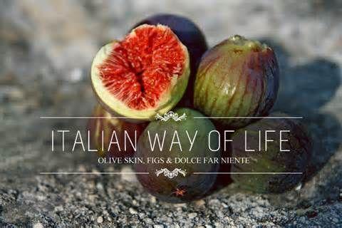 Italian Way of Life