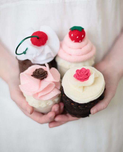 Almond Cupcakes with White Chocolate Swiss Buttercream | Chocolate ...