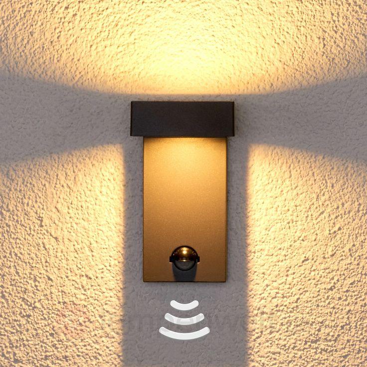 Sensor-Wandleuchte Toska für draußen, mit LEDs 9647064