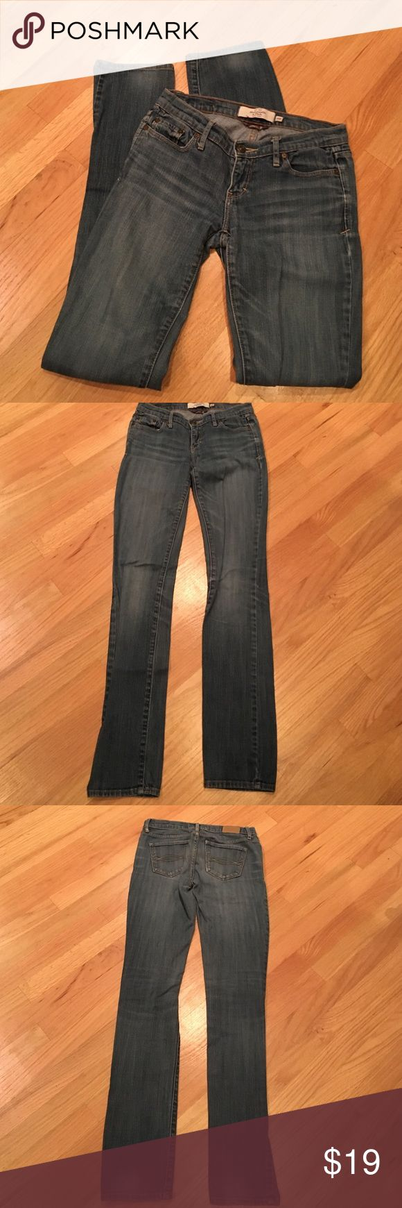 """💥Abercrombie Stretch Jeans A & F Stretch, """"Erin"""" Jeans, size 00R, soft, good condition, no holes Abercrombie & Fitch Jeans"""