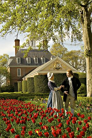 The Governors Palace at Colonial Williamsburg
