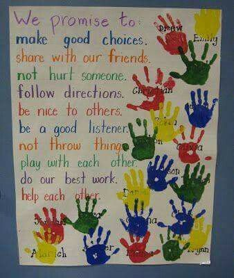 Promises instead of rules for the classroom