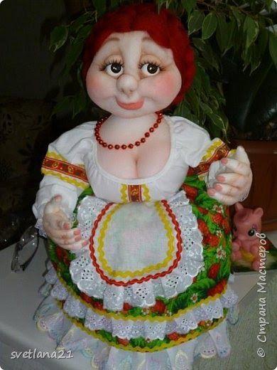 Блог о создании кукол в скульптурной (чулочной) технике. Автор Елена Лаврентьева.