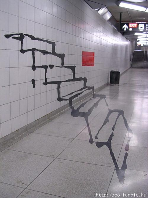 see the thing is id try to walk up those...