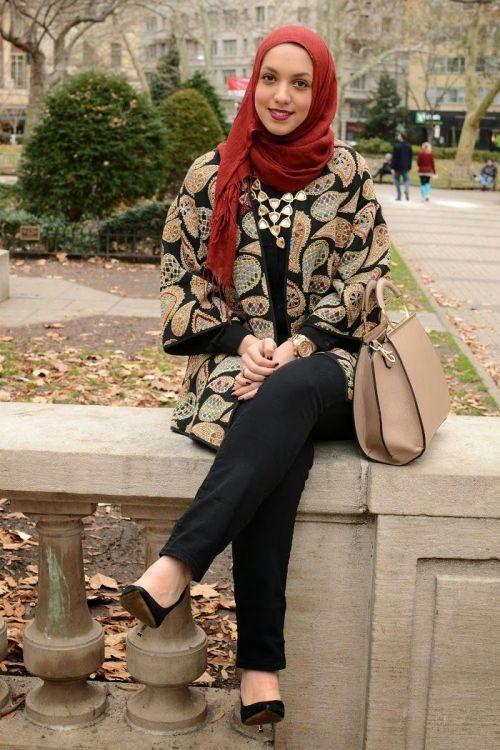 cozy hijab coat
