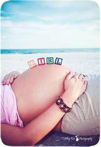 Pictures for future baby. You should do this and put in Greyson's room. But spell his name on your belly. So cool.