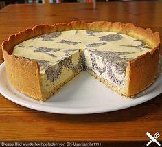 Mohn - Quark - Fleckerl - Kuchen
