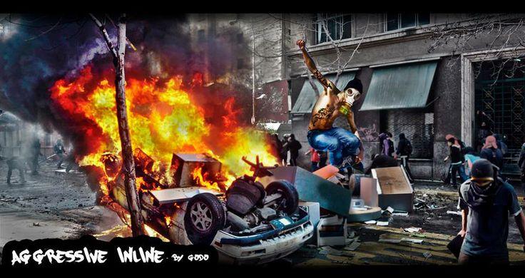 Arte Agresivo. Tema: Aggressive inline - By Godo