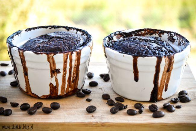Deser czekoladowo - kawowy