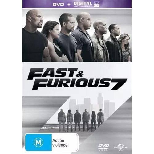 Discounted: Fast & Furious 7 (DVD, 2015) #Movies