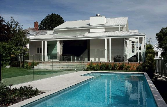 Pool white federation house NZ