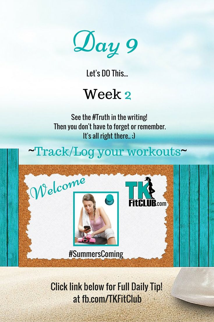 #Track Log Your Workouts TKFitClub Bikini Ready Countdown.#SummersComing #Accountability #fitfam #getfit #weightloss #Challenge #nutrition #eatclean #workouts