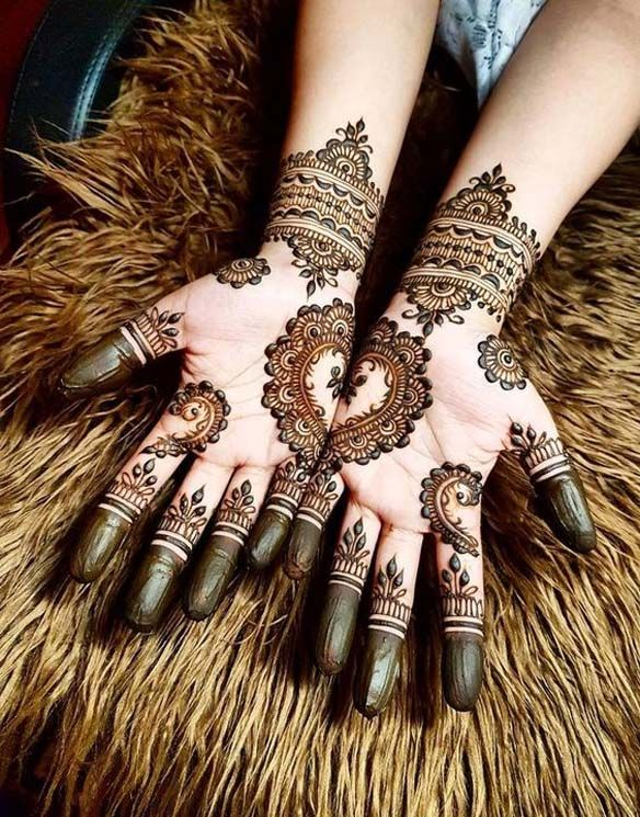Best Mehndi Designs For Hands This Season
