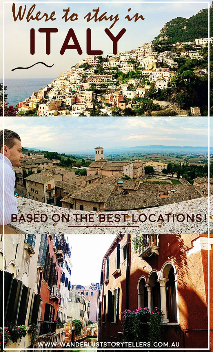 Finding luxurious places to stay in Italy that are in a close proximity to the sights would be greatly advised! And that is exactly what we did on our travels through Italy. Location, location, location! | Read more on our blog :
