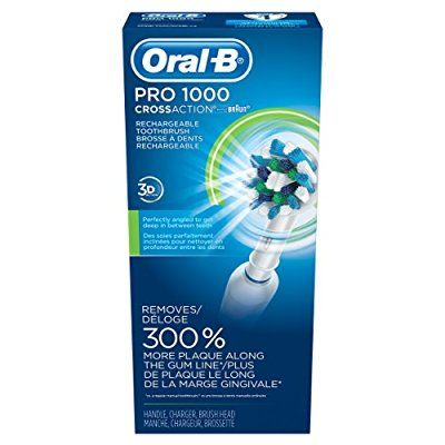 Oral-B Pro 1000 Power Rechargeable Electric Toothbrush Powered by Braun - Packaging May Vary