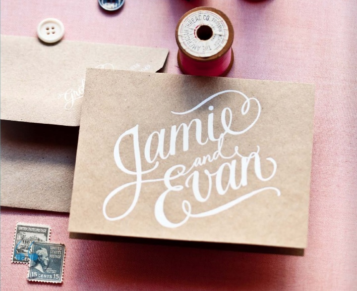 Kraft paper personal stationery: Invitations, Sweet, Matchbook April, Kraft Paper, Natural Packaging, Paper Personalized, Prints