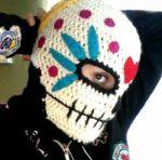 Free skull mask crochet pattern
