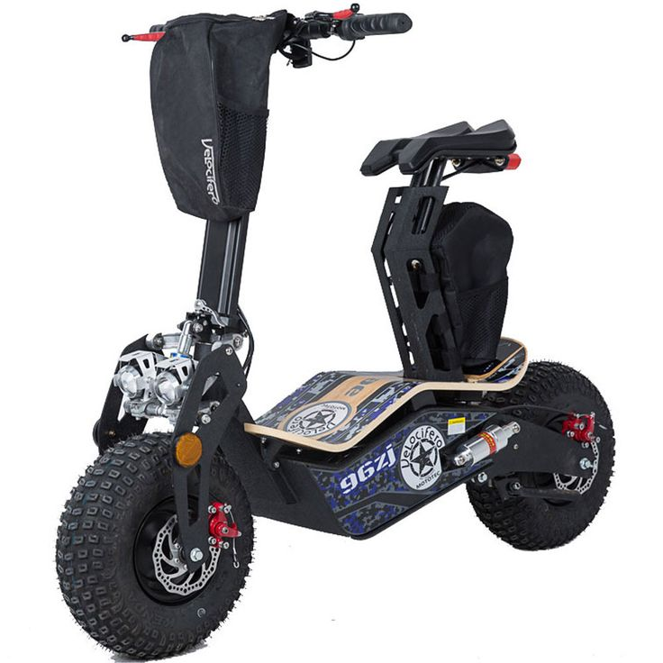 Mad 1600w 48v Electric Scooter By MotoTec | Blue