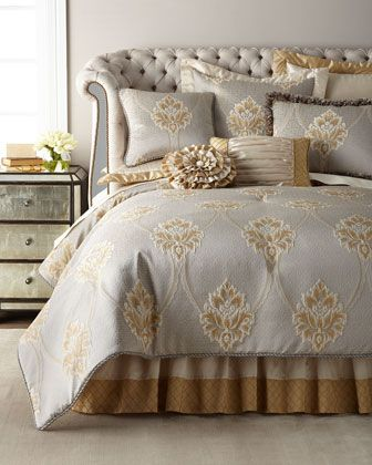 b56ee991ca Valencia+3-Piece+Queen+Comforter+Set ++and+Matching+Items+by+Austin+Horn+Classics+at+Neiman+Marcus.