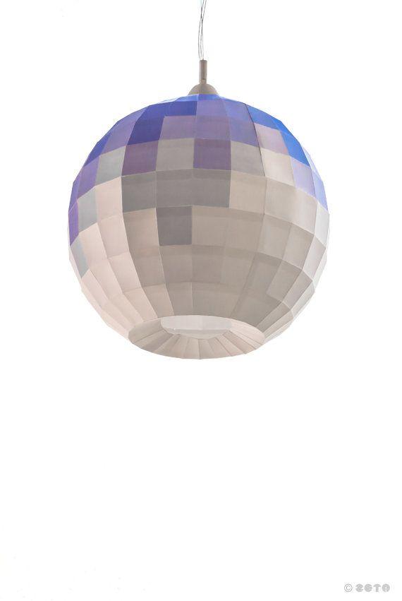 Construye tu lámpara esférica de papel. por ZETAestudiotaller