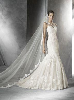 Svatební šaty Pronovias 2017 ve svatebním domě NUANCE. Model Pladie.