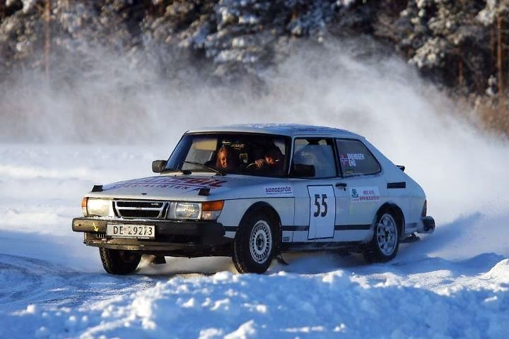 saab 900 turbo rally | 1986 Saab 900 Turbo rally bil