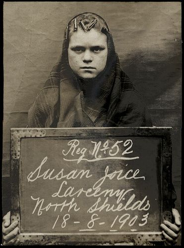 Susan Joice |  prisoners brought before the North Shields Police Court between 1902 and 1916 in the collection of Tyne & Wear Archives