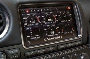 Nissan gtr 2014 Dashboard