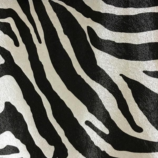 Chester Zebra Print Vinyl Faux Leather Upholstery Fabric By The Yard Available In 6 Colors Leather Upholstery Fabric Faux Leather Fabric Leather Fabric