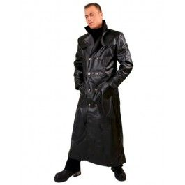 Manteau gothique BLACK PISTOLS