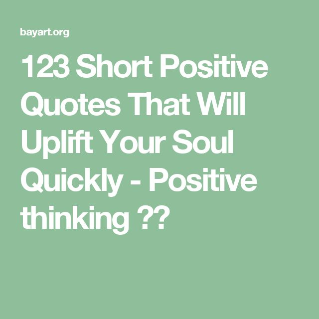Think Positive Be Optimistic Quotes: Best 25+ Think Positive Quotes Ideas On Pinterest