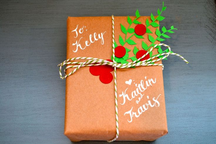 Christmas wrapping papper DIY