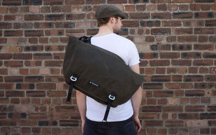 """Deaf Pigeon - """"Trakke bags is bucking the trend by producing high-quality, hand made products over here in the UK """""""