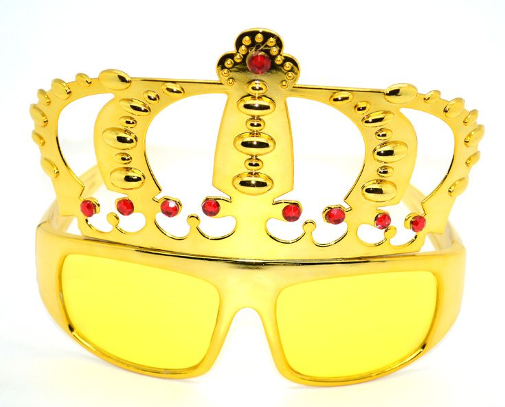 #King #Crown #Party #Eye #Glasses