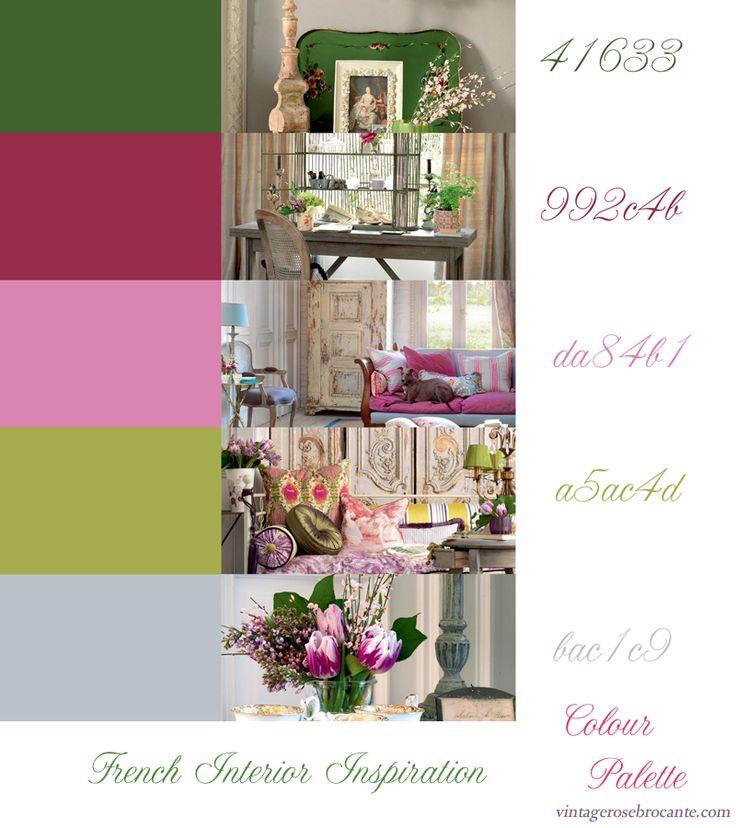 French Interior Colour Inspiration