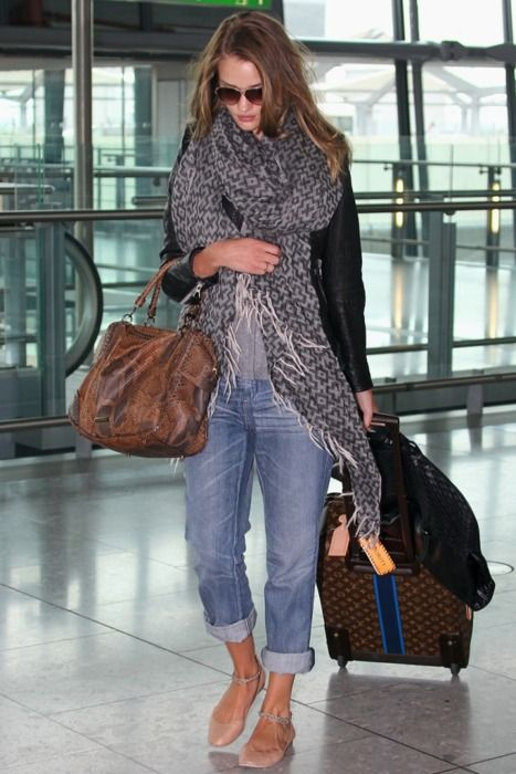 Airport Chic - REALLY?  People don't have to wear their pajama bottoms and camis for comfort??  Get the word out....quickly!!