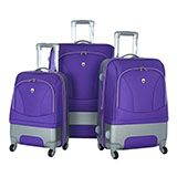 No-Hassle Purple Luggage - $110.00 - $330.00 at The Purple Store