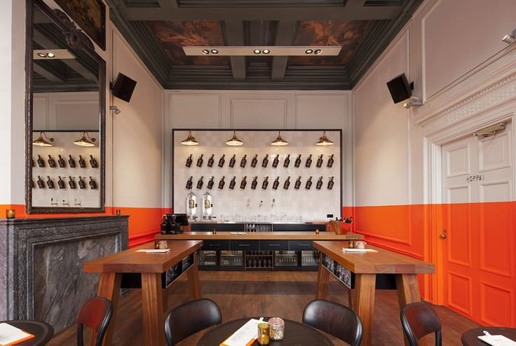 Amsterdam beer bar amps up the visual stimulation with a