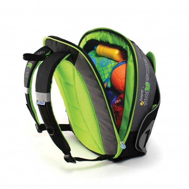 BoostApak Car Booster Seat Green