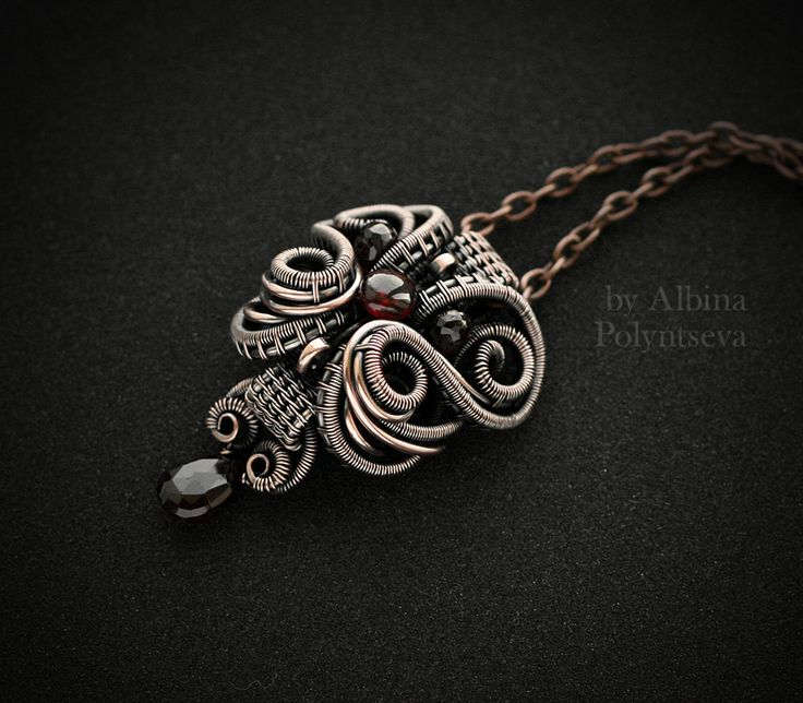 449 best Wirework Necklaces images on Pinterest | Wire crochet, Wire ...