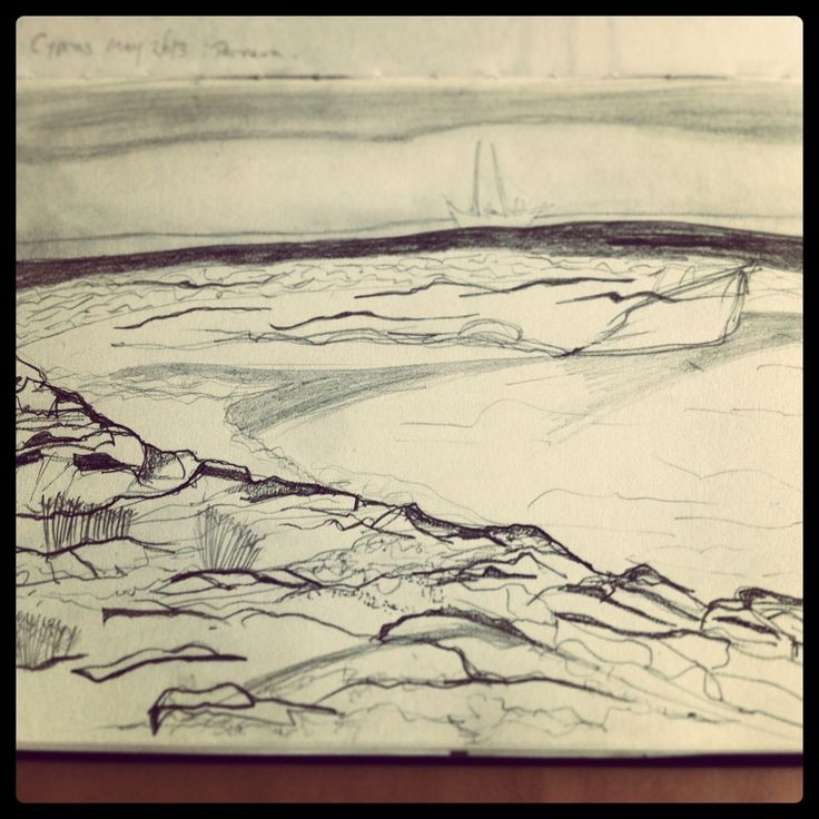 Quick sketch 2, Cyprus 2013