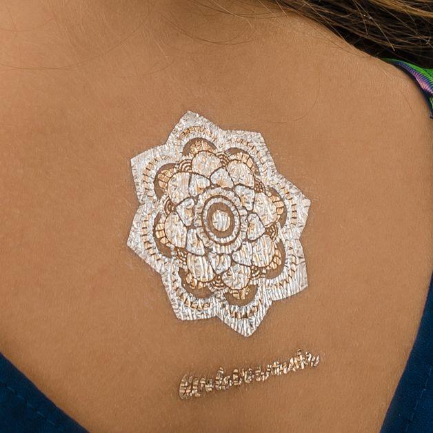 Tatuaże Boho Golden Mehendi Set - Bright-Boho - Pozostałe
