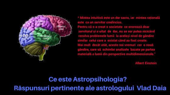Ce este astropsihologia via astrologul Vlad Daia  | diane.ro