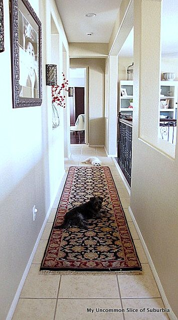 How to decorate a long hallway