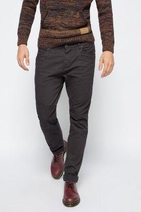 149.90zł SPODNIE MĘSKIE – MEDICINE – SPODNIE BOHEMIAN http://mybranding.pl/produkt/spodnie-meskie-medicine-spodnie-bohemian-3/  #moda #fashion #men #mężczyzna #spodnie #męskie #medicine #bohemian #czarny #black #grey #straight #leg