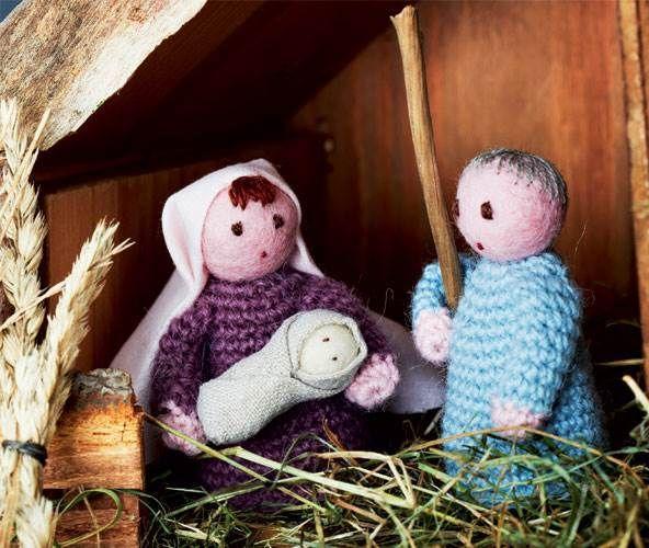 Josef, Jomfru Maria og det lille Jesusbarn – uden dem ville der slet ikke være nogen jul.