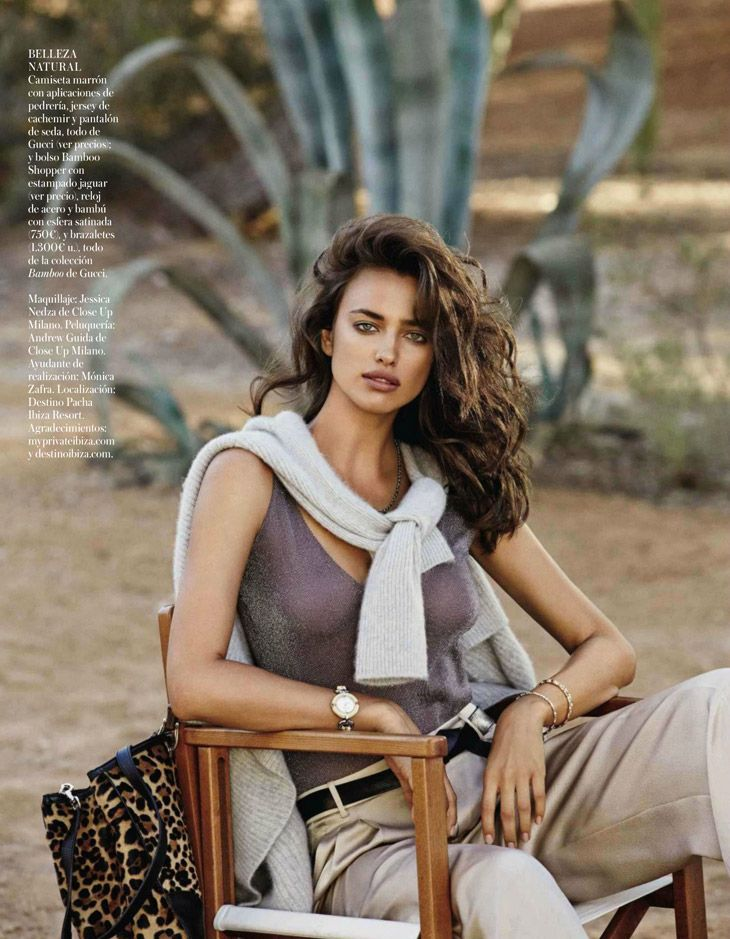 Irina Shayk for Vogue Spain by Giampaolo Sgura