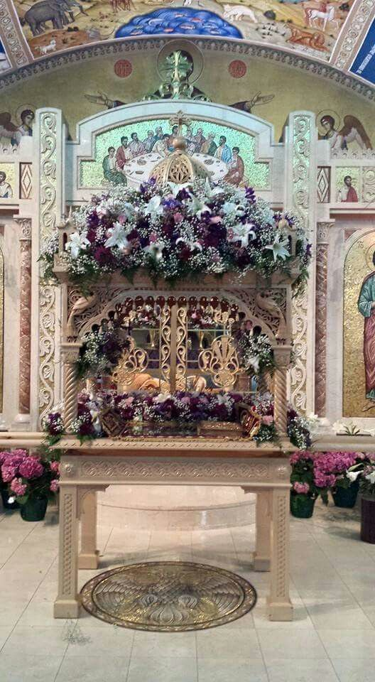 Holy Friday' Epitaphios-St. Sophia Greek Orthodox Church, Albany, New York