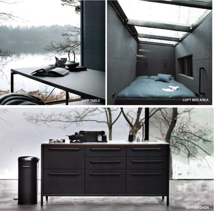 The Vipp Shelter | Now you can live in a Vipp!