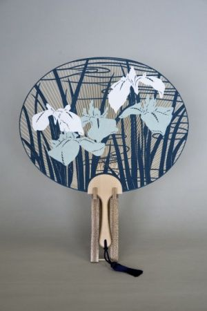 Paper Fan or Art? Japanese Uchiwa (paper fan) is a piece of art to me.....うちわはアートですね!